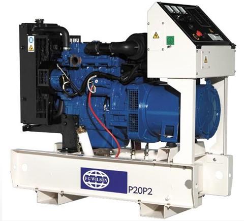 英国珀金斯400系列发电机(12.5kVA-35kVA)特性