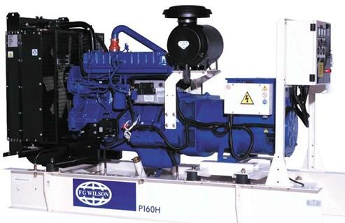 英国珀金斯1006系列(100kVA-165kVA)发电机组特性