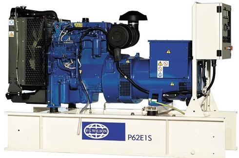 英国珀金斯1100系列(33kVA-88kVA)发电机特性