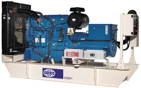 英国珀金斯2306系列(350kVA-450kVA)发电机组特性