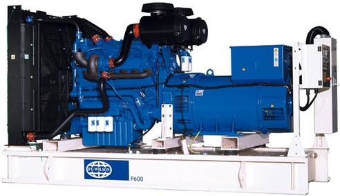 英国珀金斯2506系列(500kVA-550kVA)发电机组特性