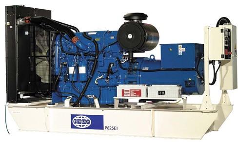 英国珀金斯2806系列(500kVA-700kVA)发电机组特性