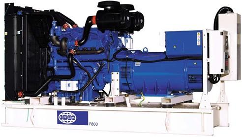 英国珀金斯4006系列(800kVA-900kVA)发电机组特性