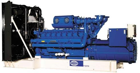 英国珀金斯4016系列(1875kVA-2500kVA)发电机组特性