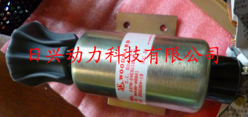 三菱12R发动机停车电磁阀